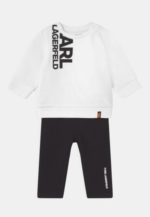 BABY SET UNISEX - Tracksuit - black/white