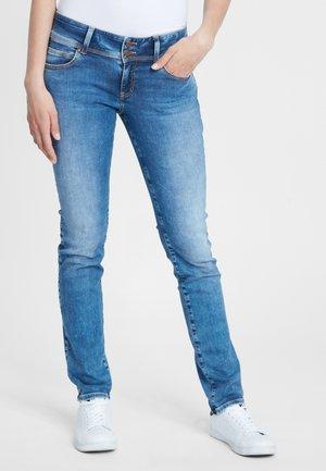 LOIE - Straight leg jeans - mid-blue