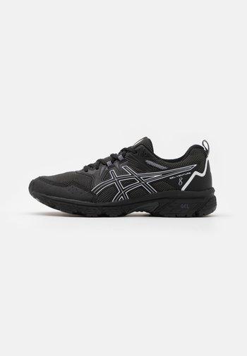 GEL VENTURE 8 - Trail running shoes - black/white