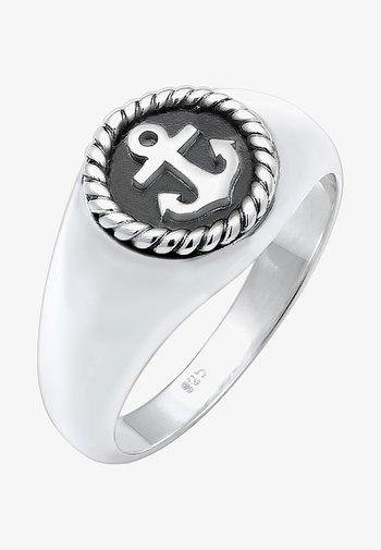 ANCHOR - Ringar - silver-coloured