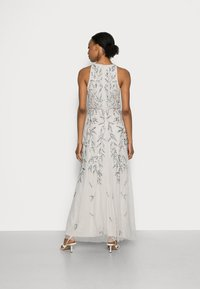 Maya Deluxe - HIGH NECK EMBELLISHED MAXI DRESS - Occasion wear - soft grey - 2
