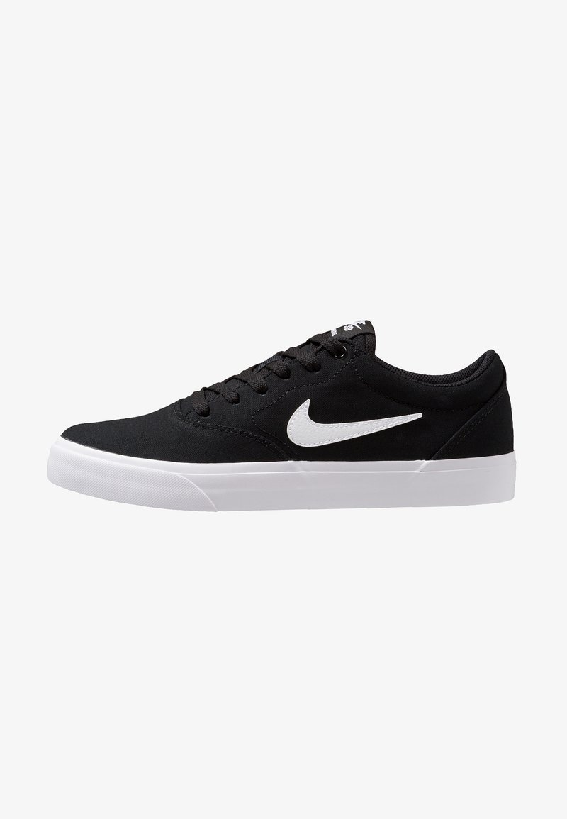 Nike SB - CHARGE SLR - Matalavartiset tennarit - black/white