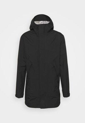 LIGHT PAC - Hardshell jacket - black