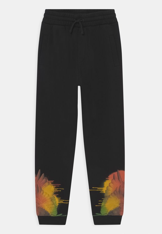 WINGS SPRAY - Trainingsbroek - black