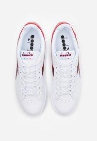 Diadora - GAME - Trainers - white/cranberry/cordovan - 5