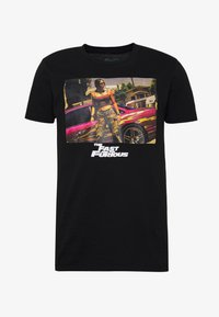 Bioworld - FAST AND THE FURIOUS TEE - Triko s potiskem - black - 3