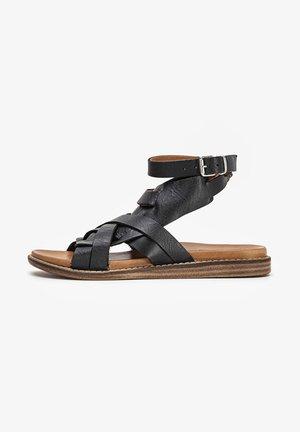 Sandalen - black tan btn
