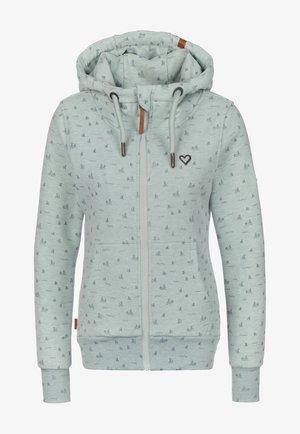 YASMIN - Zip-up hoodie - ice