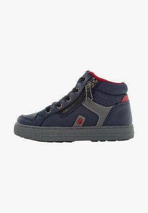 Sneakers hoog - navy multi
