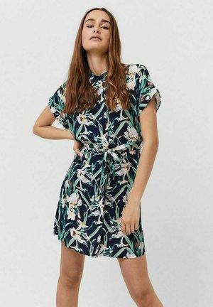 VMSIMPLY EASY SHIRT DRESS - Sukienka koszulowa - navy blazer