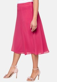 Sheego - A-line skirt - roses wood - 3