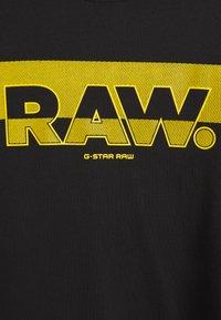 G-Star - RAW. GRAPHIC SLIM  - Camiseta estampada - black - 2