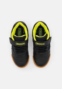 Kappa - DAMBA UNISEX - Sports shoes - black/yellow - 3