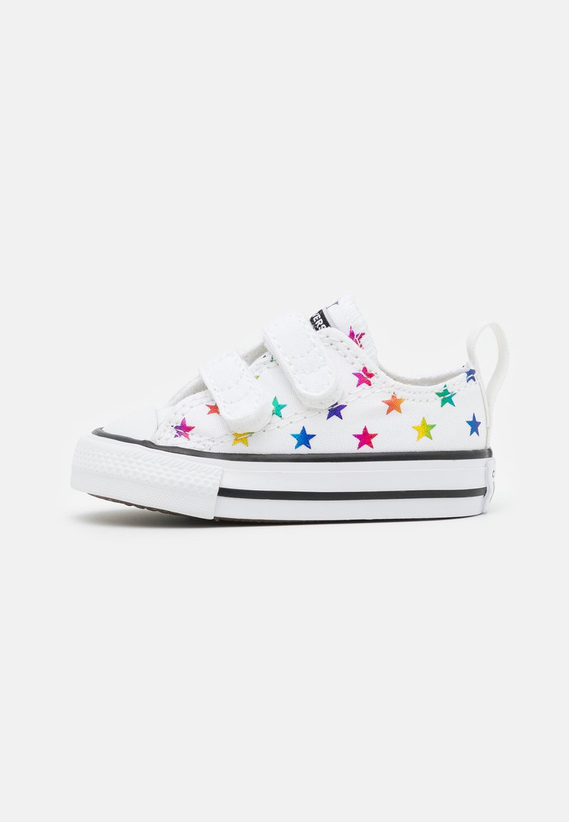Converse - CHUCK TAYLOR ALL ARCHIVE FOIL STAR PRINT UNISEX - Trainers - white/black