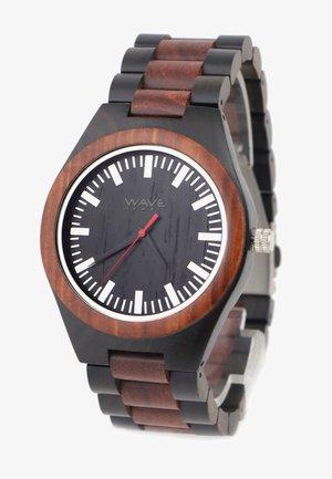 Horloge - sandelholz/ebenholz
