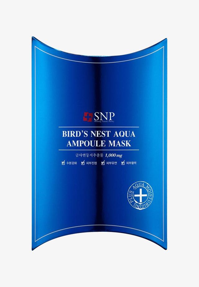 SNP BIRD'S NEST AQUA AMPOULE MASK 10 PACK - Gesichtsmaske - -