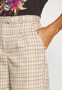Fashion Union - TROUSER - Kalhoty - beige - 4