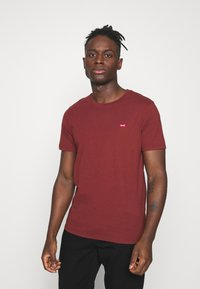 Levi's® - ORIGINAL TEE UNISEX - T-shirt imprimé - madder brown - 0