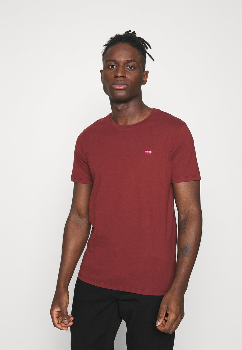 Levi's® - ORIGINAL TEE UNISEX - T-shirt imprimé - madder brown