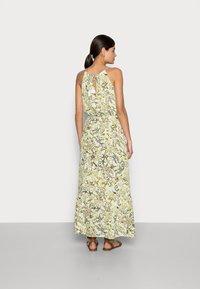 TOM TAILOR - DRESS AMERICAN NECKLINE - Maxi dress - green - 2