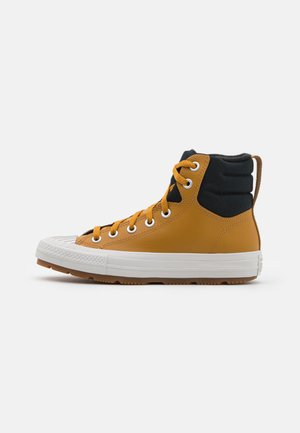 CHUCK TAYLOR ALL STAR BERKSHIRE UNISEX - Sneakers hoog - wheat/black/pale putty