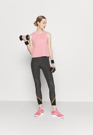 2 PACK - Top - pink/grey