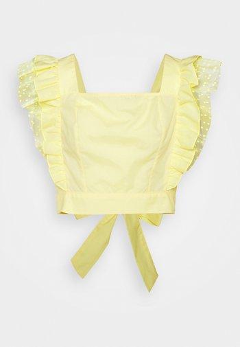 Blusa - yellow light