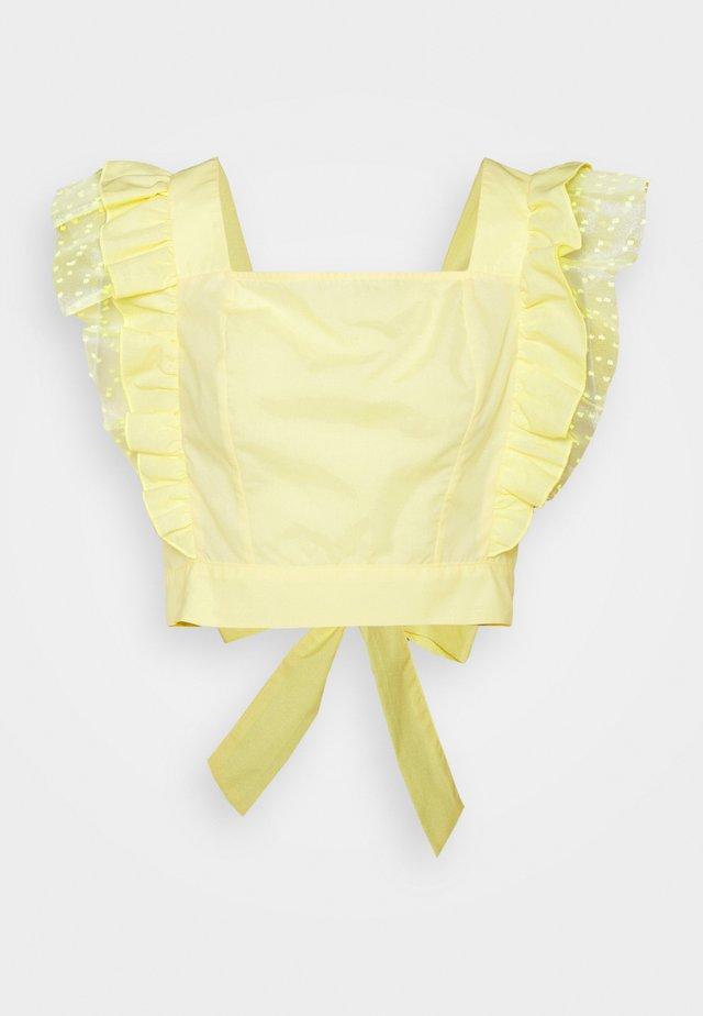 Blouse - yellow light
