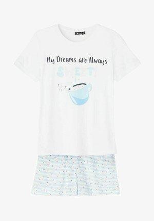SET - Pyjama set - bright white