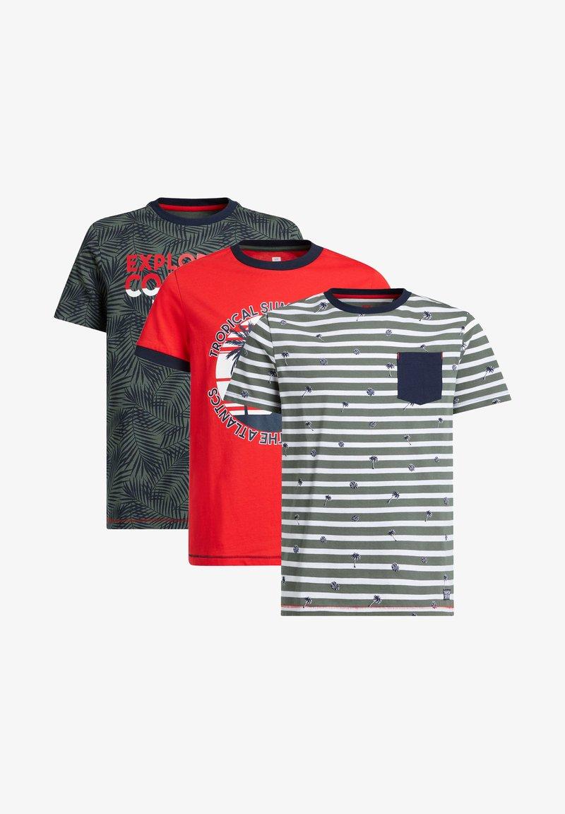 WE Fashion - 3-PACK - Print T-shirt - multi-coloured