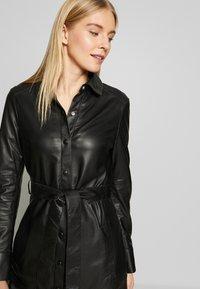 Oakwood - INDIANA - Shirt dress - black - 3
