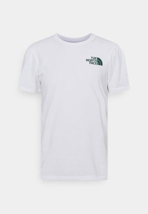 WALLS ARE MEANT FOR CLIMBING - Print T-shirt - white