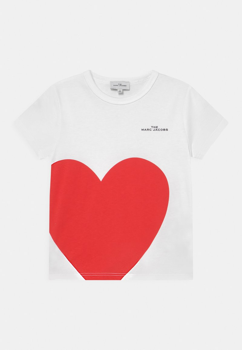 The Marc Jacobs - SHORT SLEEVES  - T-shirts med print - white