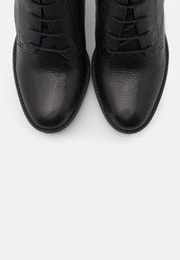 San Marina - NORE - Kotníková obuv na vysokém podpatku - noir - 5