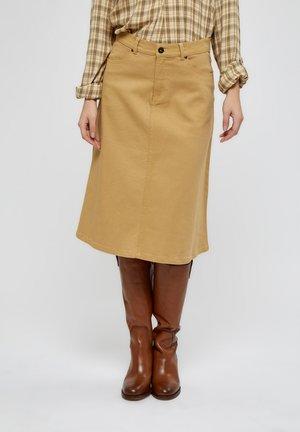 PEYTON  - A-line skirt - prairie sand