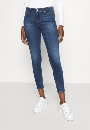 MID RISE ANKLE - Jeans Skinny Fit - bright blue