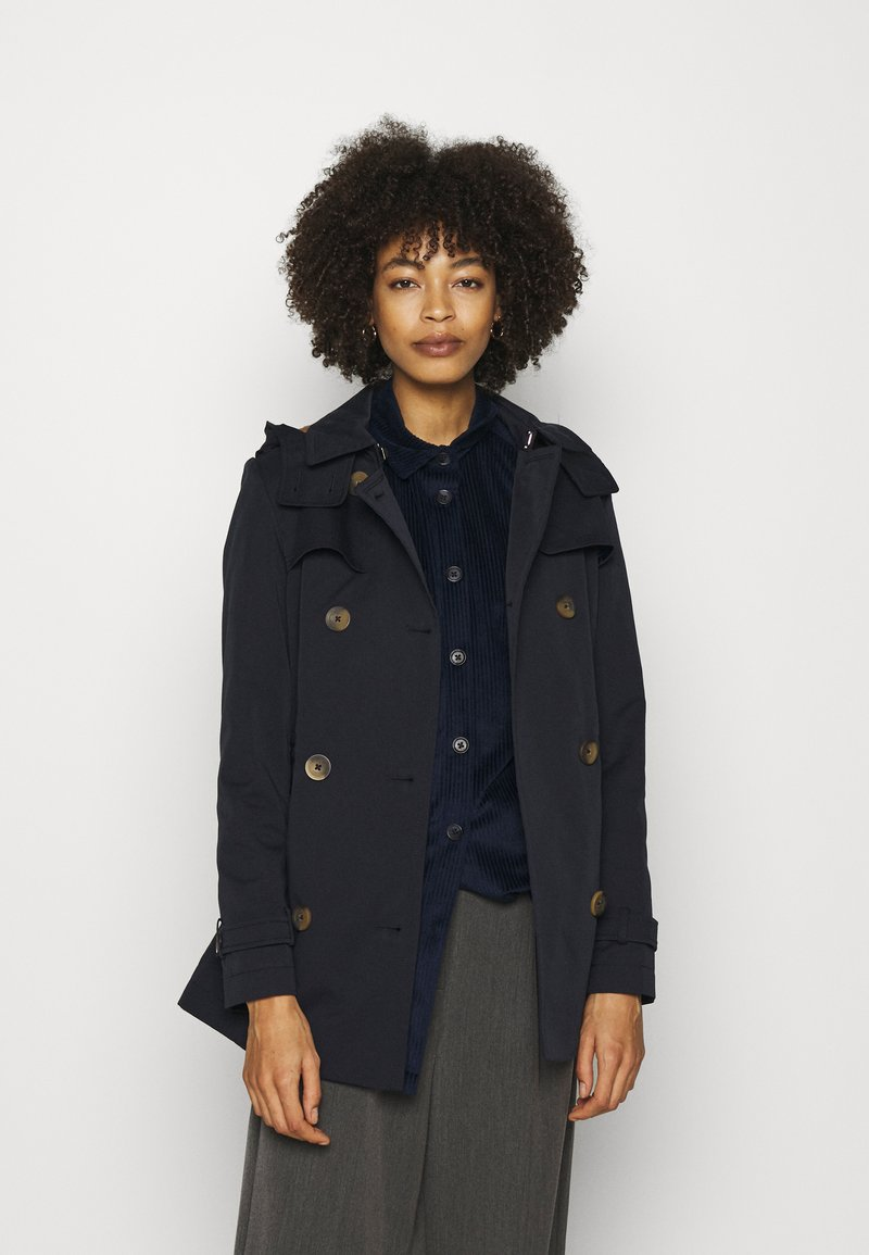 Esprit - Trenchcoat - navy