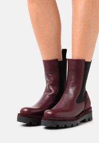 lilimill - ASTRID - Platform ankle boots - twister magenta - 0
