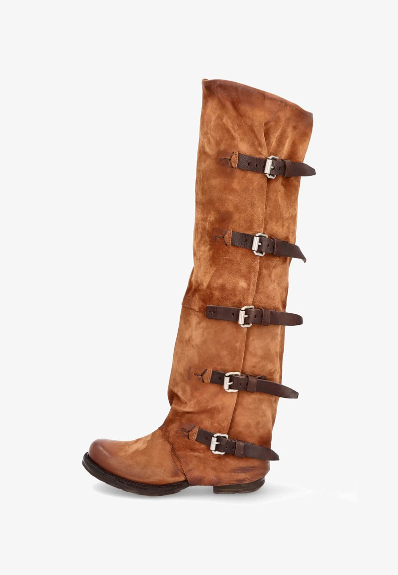 A.S.98 - Cowboy/Biker boots - calvados