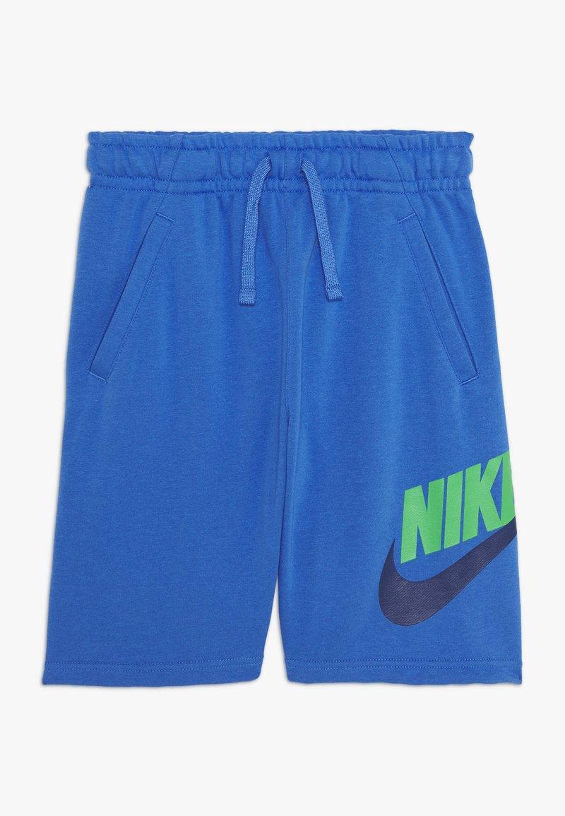 Nike Sportswear - CLUB - Shorts - pacific blue/green spark