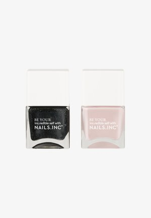 SUPER SEXY STRONG - Nail set - black/nude