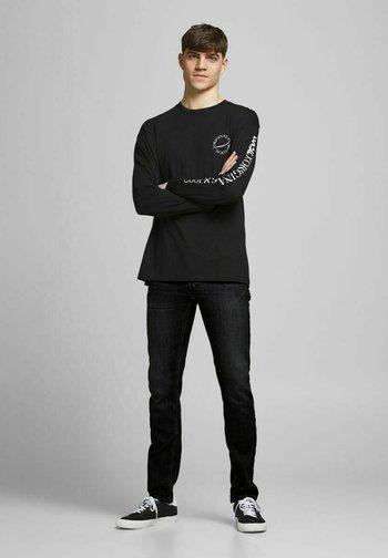 2ER-PACK GLENN  - Slim fit jeans - black denim