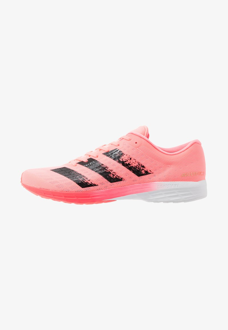 adidas Performance - ADIZERO BOUNCE SPORTS RUNNING SHOES - Zapatillas de competición - signal pink/core black/footwear white
