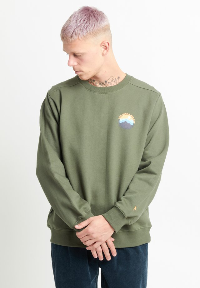MOUNTAIN CREW - Sweatshirt - light olive