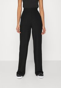 Nly by Nelly - WIDE POCKET PANTS - Broek - black - 0