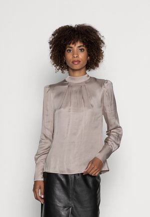 MINDY BLOUSE - Bluser - taupe