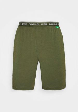 SLEEP SHORT - Pyjama bottoms - green