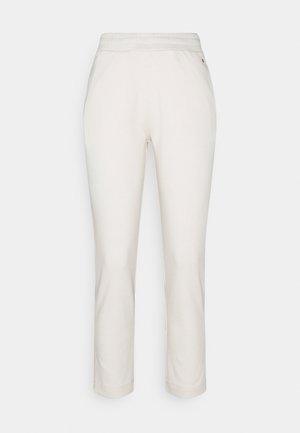 TAPERED PANT - Tracksuit bottoms - ivory