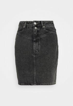 ALEAH MINI SKIRT - Falda de tubo - storm grey