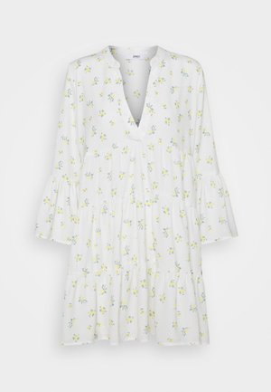 ONLATHENA 3/4 DRESS - Korte jurk - white
